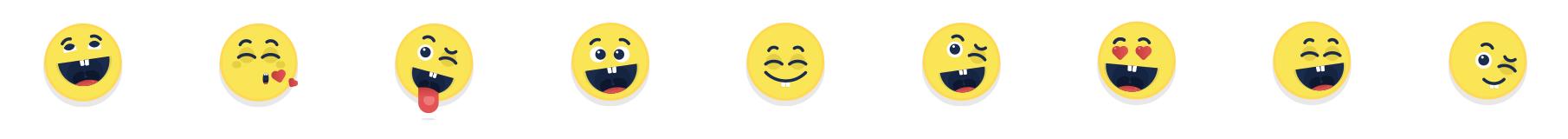 Share a smile emoji