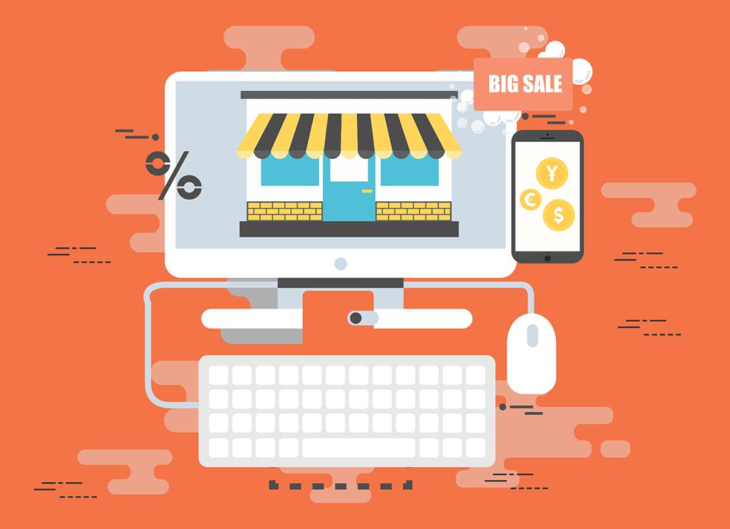 digital representation of e-commerce marketing automation