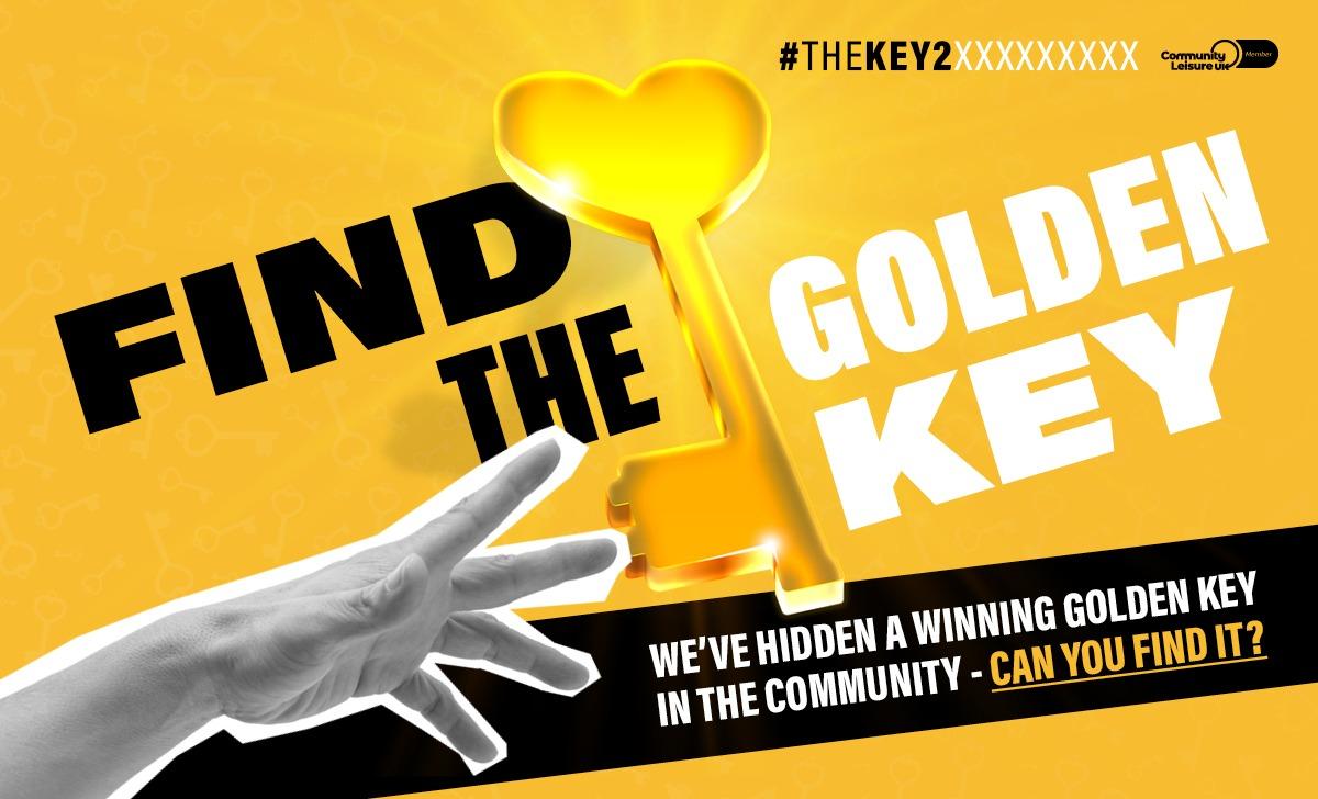 Find The Golden Key Social Post