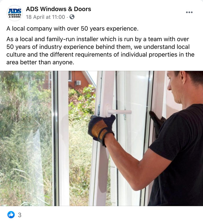 ADS Windows And Doors Social Post